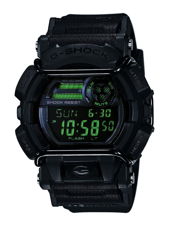 Casio Men s XL Series G-Shock Quartz 200M WR Shock Resistant Resin Color Matte Black Model GD-400MB-1CR