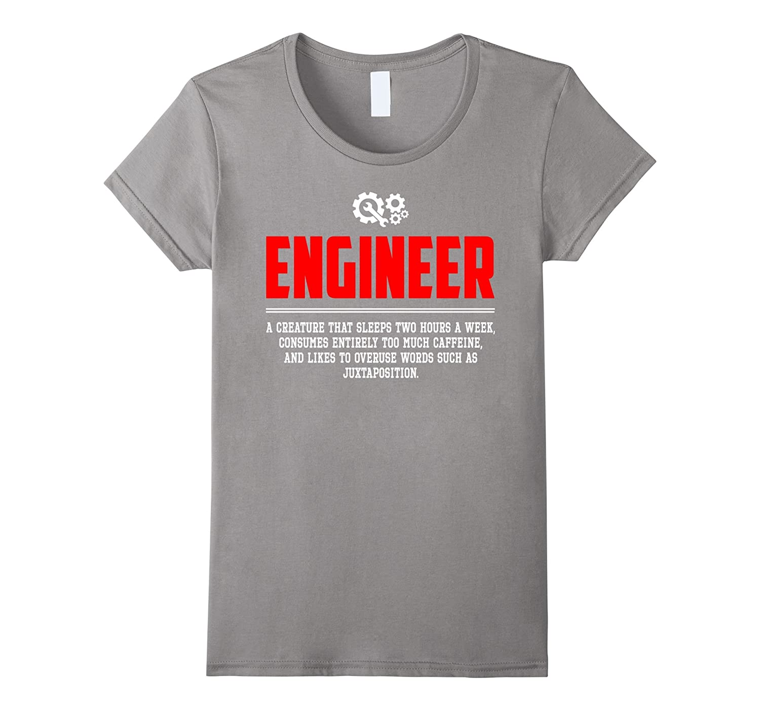 Engineer Noun Definition Funny Meaning Shirt Gift (New)