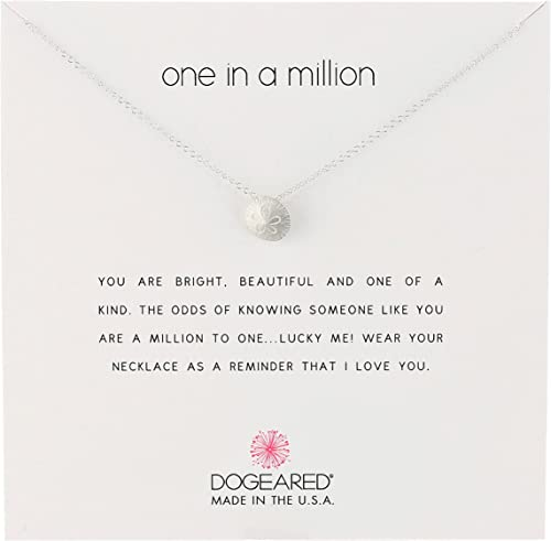 18 Dogeared Sterling Silver Thanks Reminder Necklace