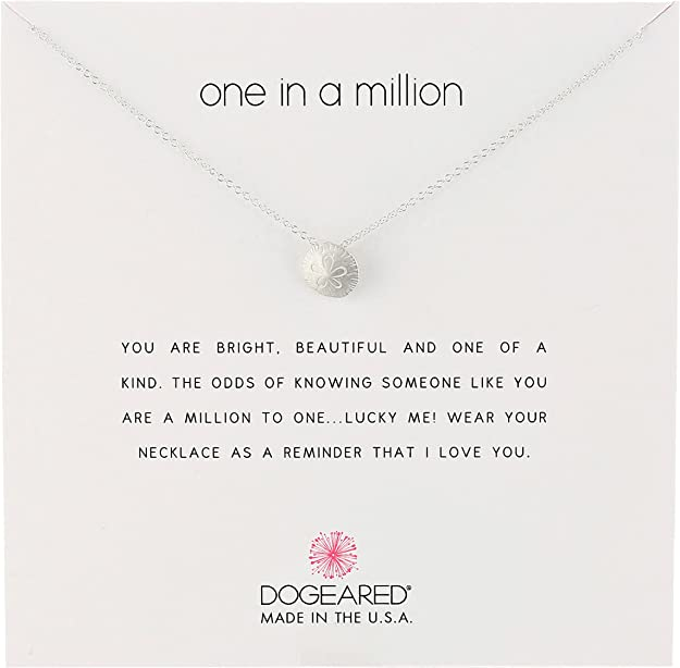 Dogeared Reminders Sandollar Silver Charm Necklace: Dogeared: Amazon.ca: Jewelry