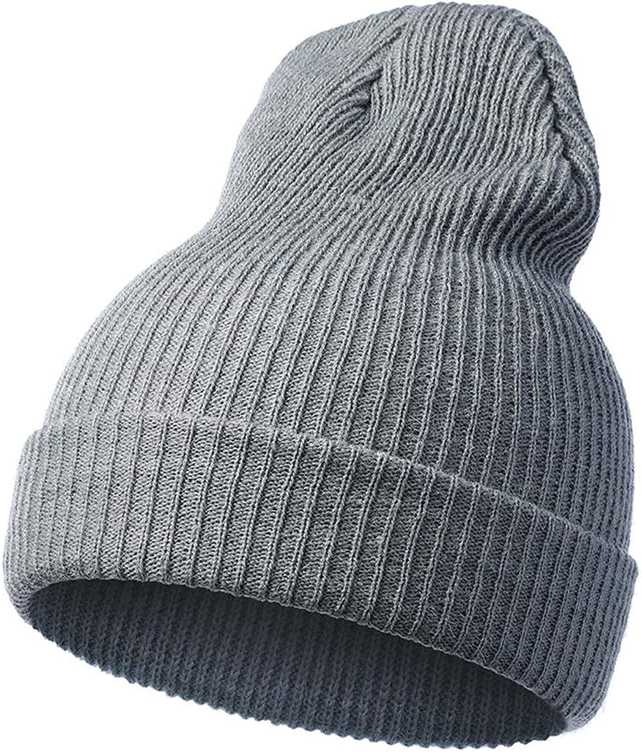 Women Autumn Winter Rabbit Hair Hat Fashion Winter Knitted Wool Hats for Girls Solid Caps