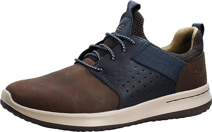 Cañón Saliente terremoto  Herrenschuhe Mens Skechers 64590 CDB Superior Dark Brown Shoes Sizes 6-11  Kleidung & Accessoires iletim.istanbul.edu.tr