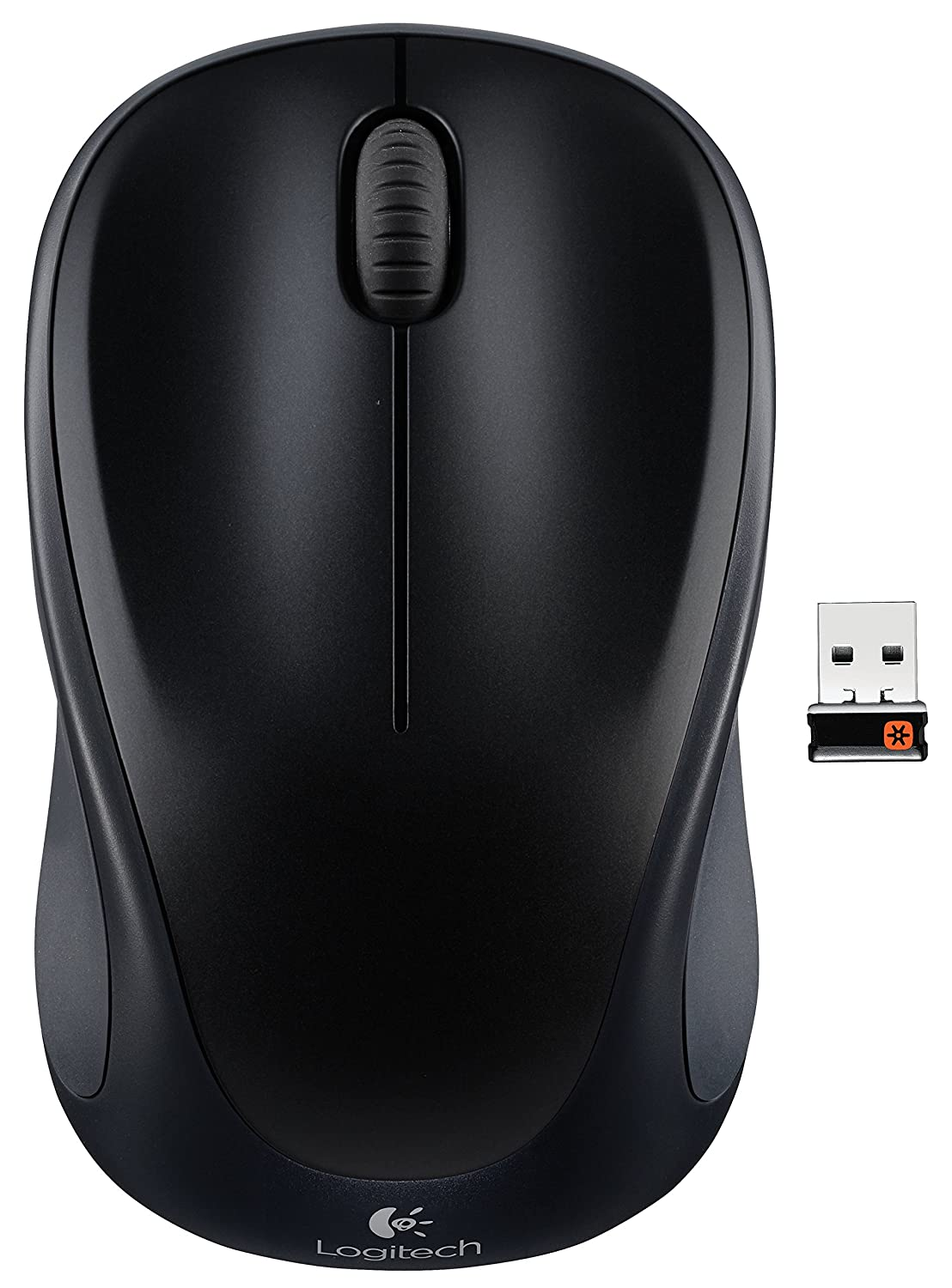 bc7acc98d1b Amazon.com: Wireless Mouse M317 with Unifying Receiver – Black: Computers &  Accessories