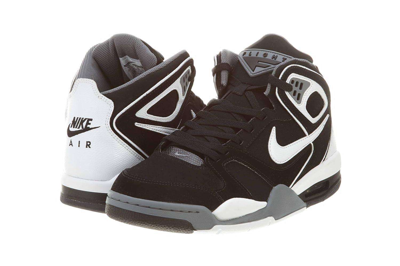 Amazon.com | Nike Mens Air Flight Falcon Basketball Shoe Black/Cool  Grey/White 9 | Basketball