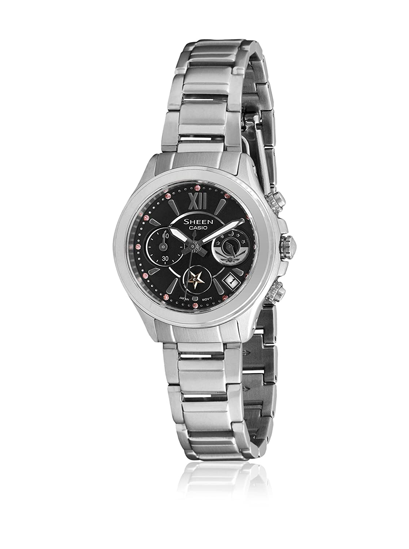 cd5af020294b CASIO 19825 SHN-5509D-1A - Reloj Señora Cuarzo Brazalete metálico dial Negro   Amazon.es  Relojes