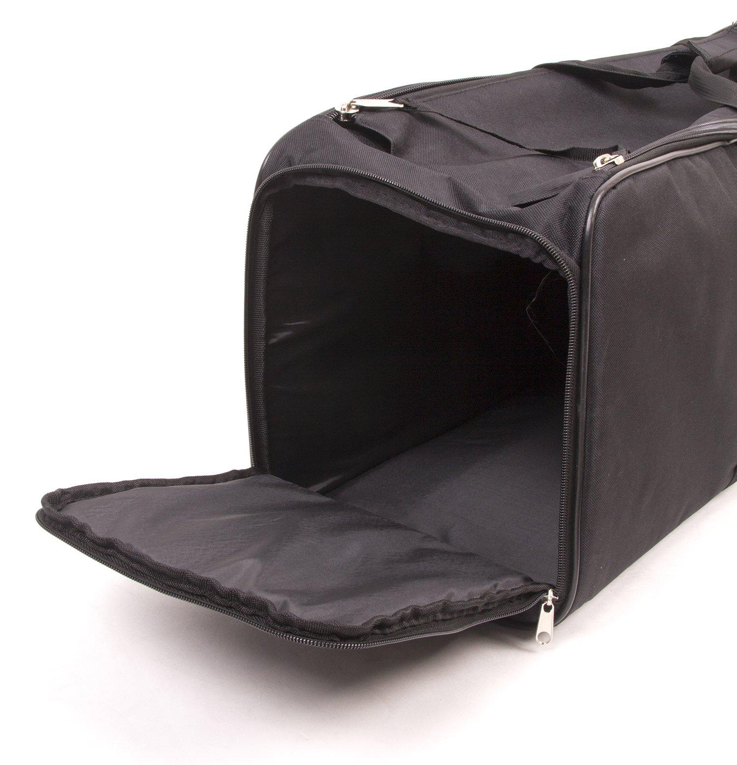 Fovitec - 1x Classic Photography & Video Lighting Equipment Duffle Bag - [35'' x 9'' x 9''][Lightweight][Durable Nylon][Dual Zippers] by Fovitec (Image #3)