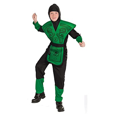 Forum Novelties Green Ninja Costume, Child Medium: Toys & Games
