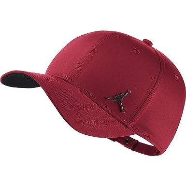 9fd8554fba41b5 Nike Jordan Clc99 Metal Jumpman, Unisex Adult Hat, unisex adult, 899657, red,  One Size: Amazon.co.uk: Clothing