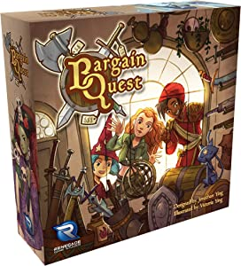 Renegade Game Studios Bargain Quest Game for 2-6 Players Aged 8 & Up