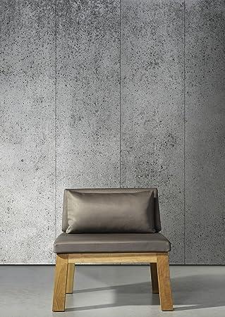 Piet Boon Con 05 Rouleau De Papier Peint Effet Beton Gris 900 X 48 7