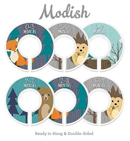 Modish Labels Baby Nursery Closet Dividers, Closet Organizers, Nursery  Decor, Baby Boy,