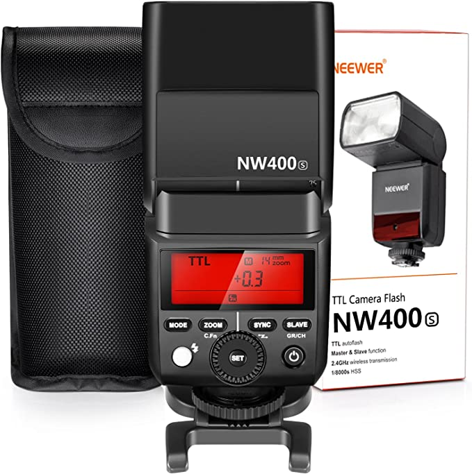 Neewer 2 4g Hss 1 8000s Ttl Gn36 Drahtlos Master Slave Kamera