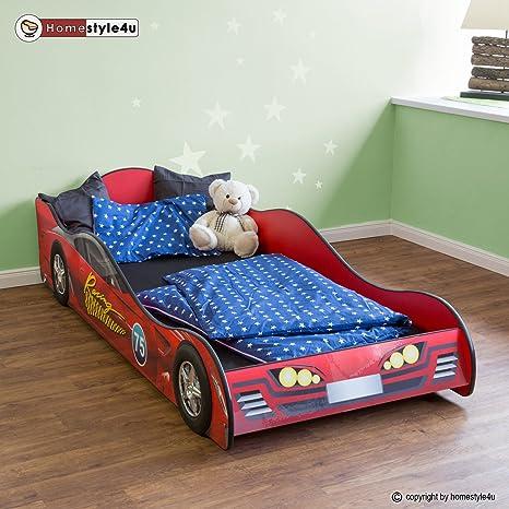 Auto Letto Matrimoniale.Homestyle4u Stuoia Di Letto Matrimoniale In Design Auto Da