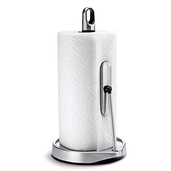 Amazon.com: Soporte para toallas de papel de brazo de ...