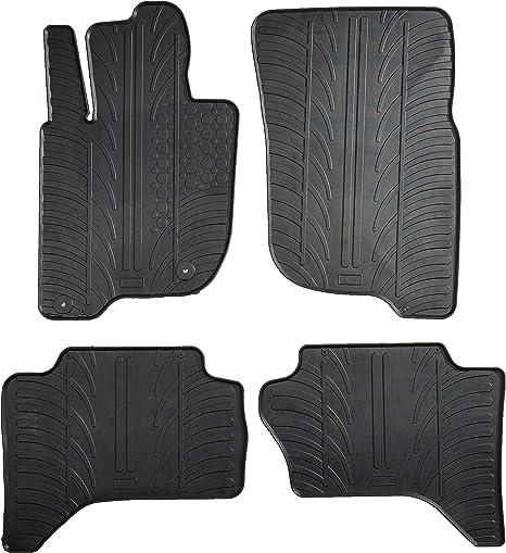 TAYDMEO Tappetino Porta Auto,per Mitsubishi Triton L200 2015-2020 Interni Auto in Gomma per tappetini Antiscivolo in Gomma Antiscivolo