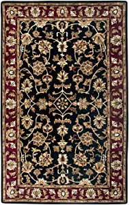 Rizzy Home Volare Hand-Tufted Area Rug 3 Ft. X 5 Ft. Black