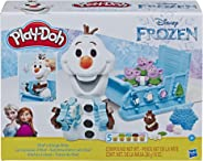 Play-Doh Featuring Disney Frozen Olaf's Sleigh Ride, Brown/A