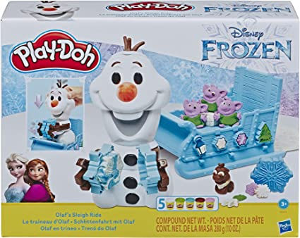 Disney Frozen Clay Buddies Olaf Modeling Figurines /& Activity Book Arts /& Crafts