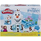 DISNEY Frozen Play-Doh - Olaf's Sleigh Ride Play Set inc 5 Tubs of Dough - sensory and educational craft toys for kids…