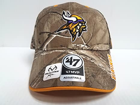 e2895ff37de ... coupon code nfl minnesota vikings 47 frost mvp camo adjustable hat one  size fits most d0252