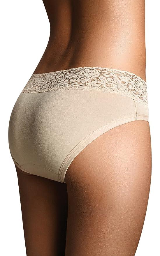 Large // 30 Inches Terramar Viita Womens Cotton Bladder Menstrual Light Anti-Leak Reusable Hipsters Underwear Pack of 1 Beige//Hipster