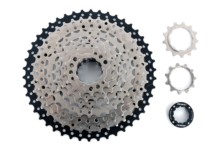 MSC Bikes csmsc91146Cassette, grau, 9V 11–46