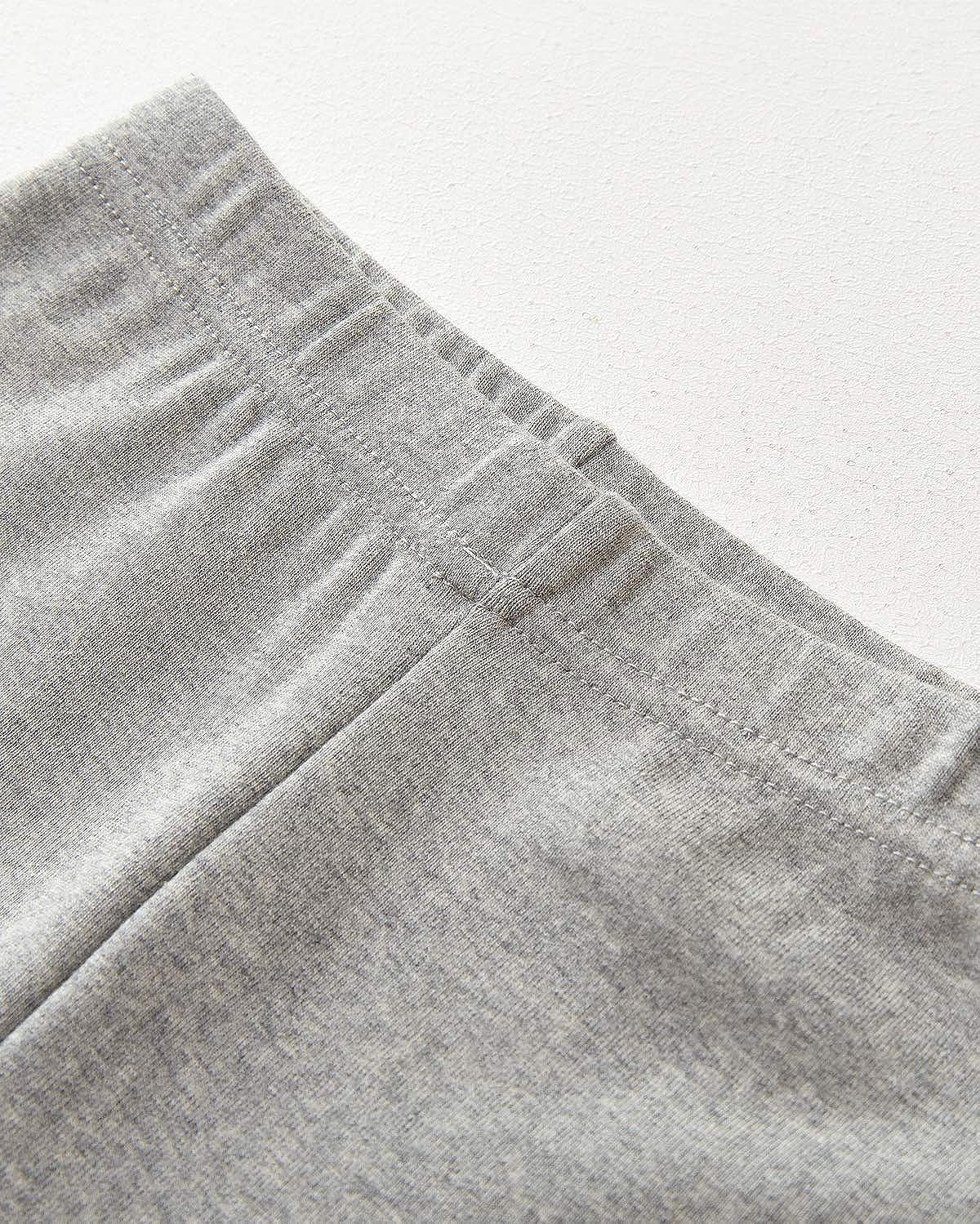 Adorel Leggings Lunghi in Cotone Bambina Confezione da 2