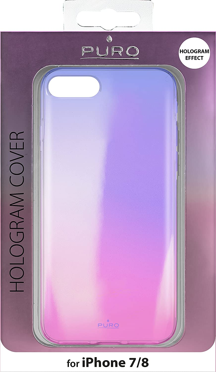 Cover Puro Hologram Cover (iPhone 8