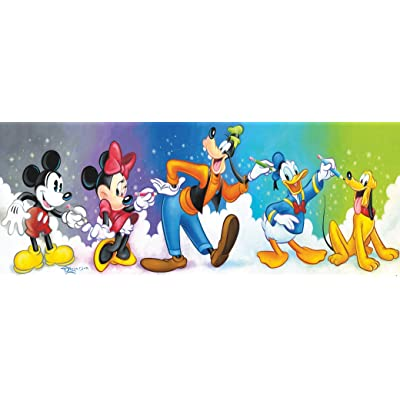 Ceaco Disney Panoramic Fab 5 Jigsaw Puzzle, 700 Pieces: Toys & Games