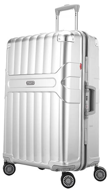 Ambassador Luggage Fashion Tru-Frame Zipperless Polycarbonate 25 ...