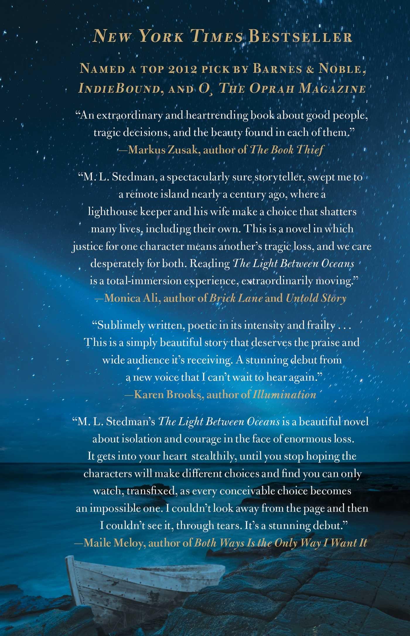 The Light Between Oceans: Ml Stedman: 9781451681758: Amazon: Books
