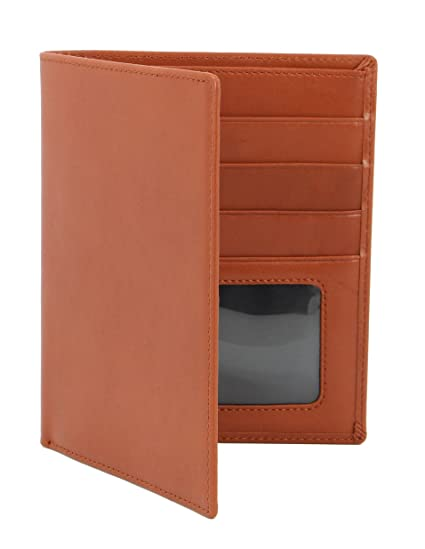 Amazon Com Mybitti Passport Wallet Executive Boarding Pass Holder