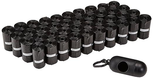 215 opinioni per AmazonBasics- Sacchetti per bisogni dei cani, con dispenser e clip per
