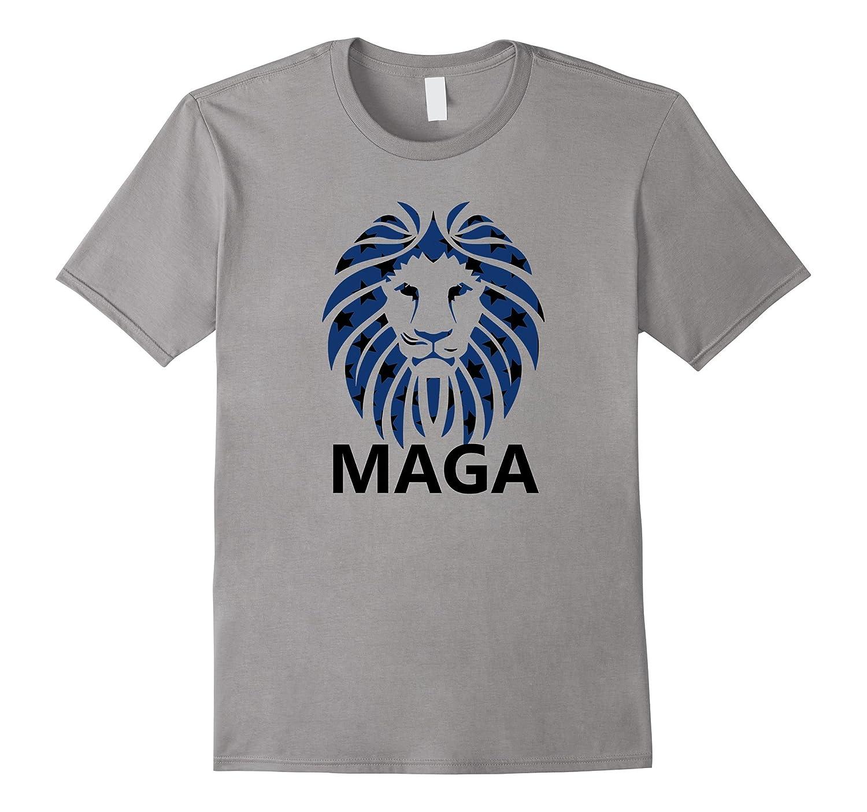 Alt Right Lion Head MAGA T-Shirts-CD