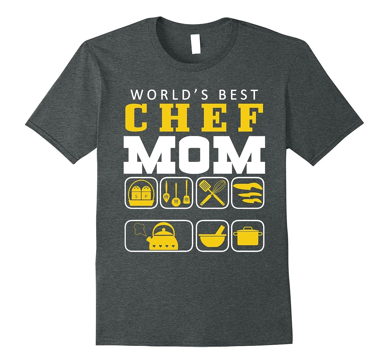 World's Best Chef Mom T Shirt, Best Chef Mom T Shirt
