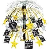 Movie Set Clapboard Cascade Centerpiece Party Accessory (1 count) (1/Pkg)