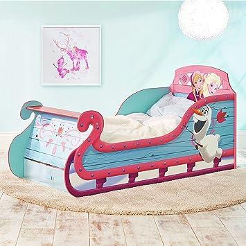 Disney Frozen Pferdeschlitten Kleinkind Bett Mit Underbed Storage Plus  Deluxe Foam Matratze