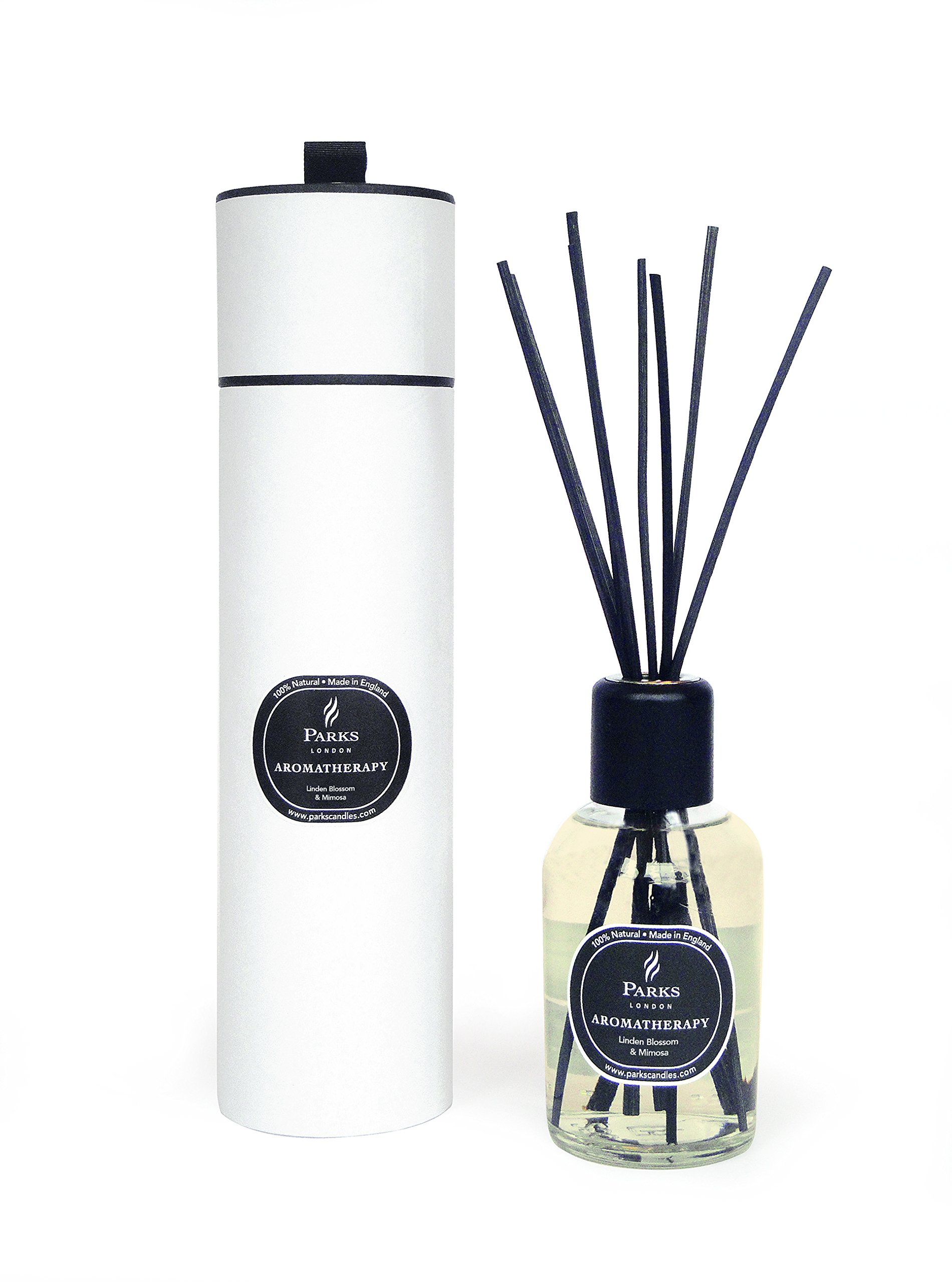 Linden Blossom and Mimosa Aromatherapy Reed Room Diffuser by Diffuser - Parks London (Image #1)