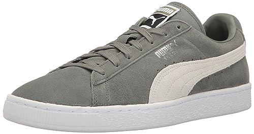 Puma Hombre Suede Classic+ Zapatillas Gris: Amazon.es: Zapatos y complementos