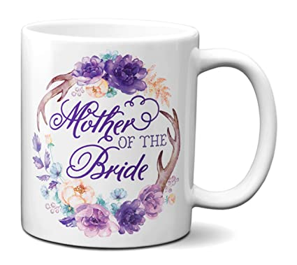 bab2fcd962a Amazon.com: Gifts for Bride's Mom - Mother Of The Bride Mug ...