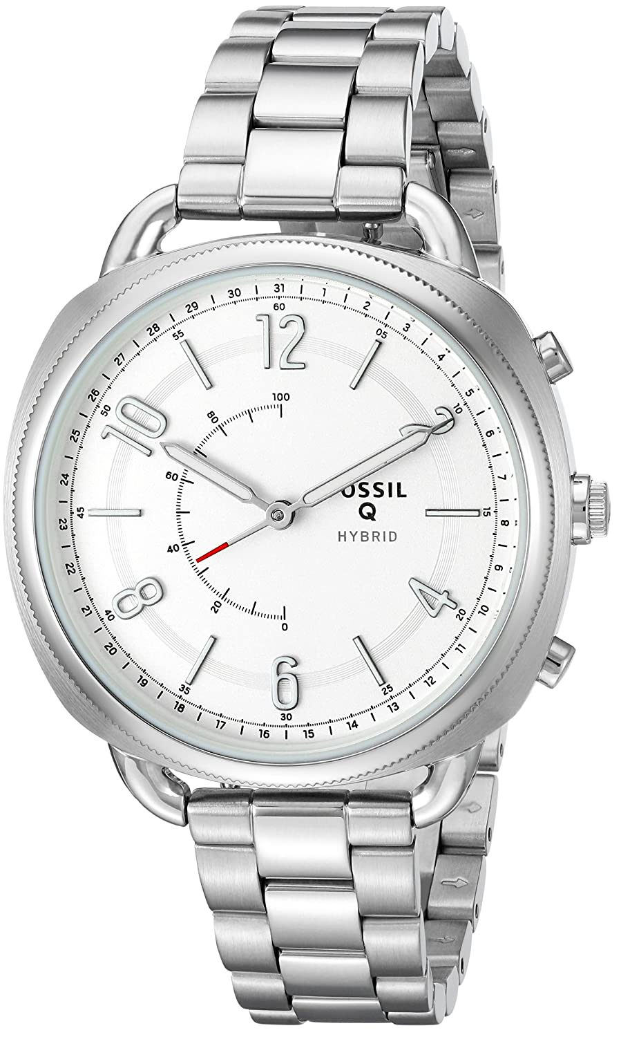 Amazon.com: Fossil Womens Accomplice Stainless Steel Hybrid ...