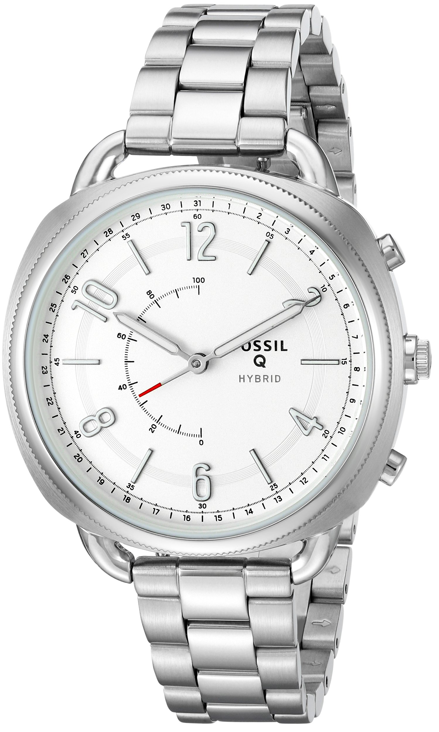 Fossil Hybrid Smartwatch - Q Accomplice Stainless Steel FTW1202
