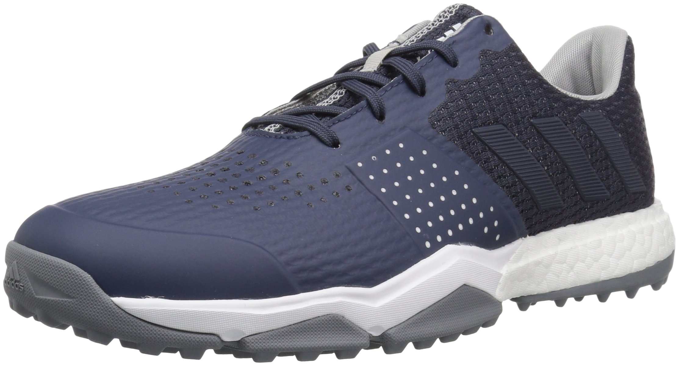 adidas Men's Adipower s Boost 3 Golf Shoe, Trace Blue/Silver Metallic, 10 M US by adidas