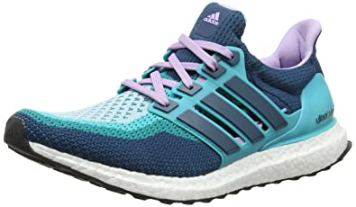 reputable site 572f0 9b004 adidas Ultra Boost Damen Laufschuhe, Green (Clear Green S12Mineral  S16Purple