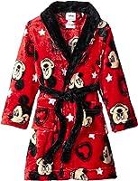 Disney Boys' Toddler Boys' Mickey Mouse Luxe Plush Robe