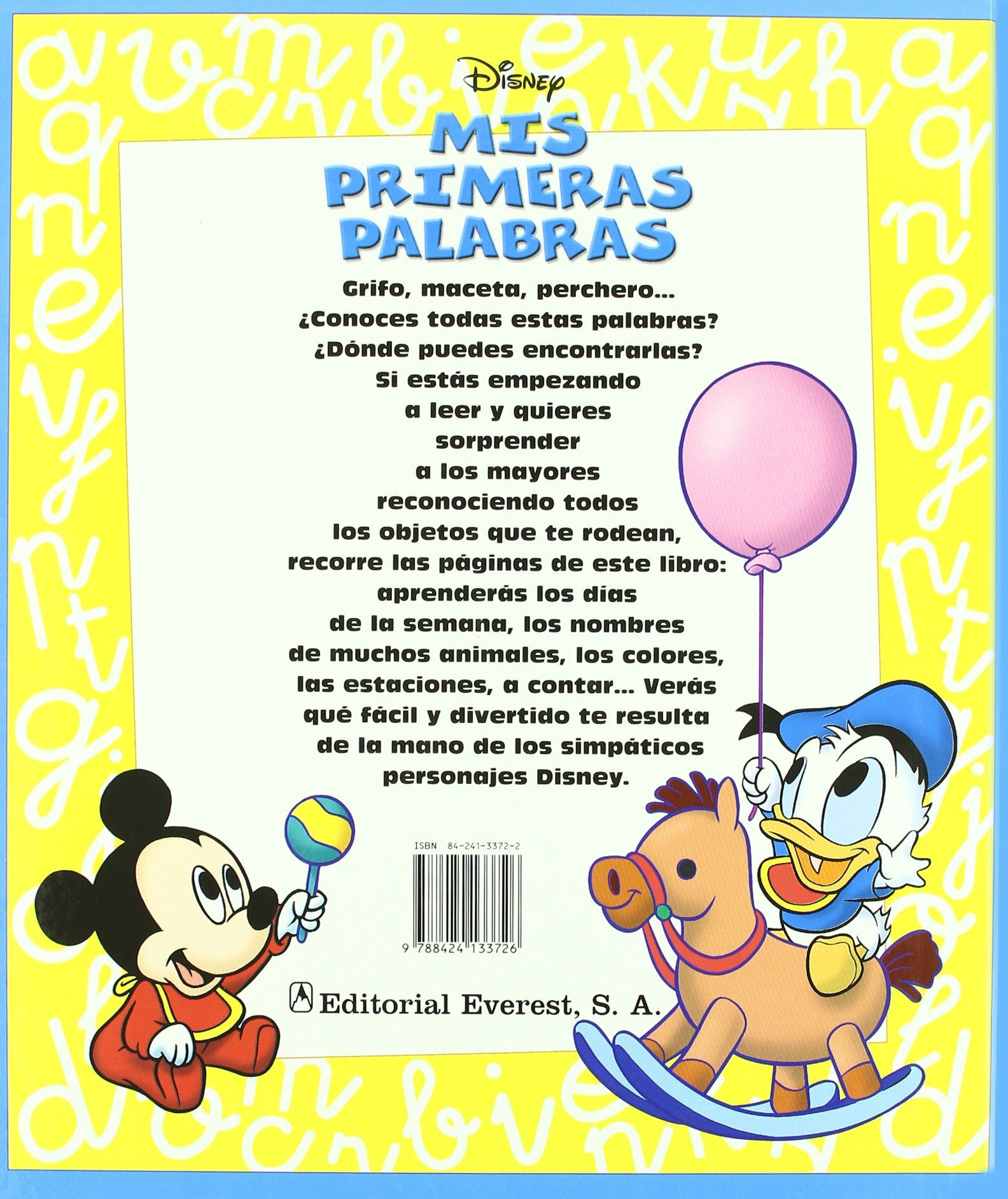 MIS Primeras Palabras (Spanish Edition): Disney ...