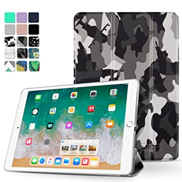 TNP iPad Pro 10,5 Case - Ultra Delgado Ligero Smart Carcasa ...