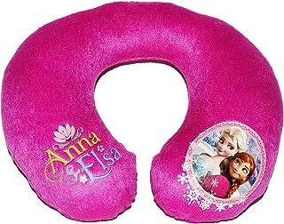 alles-meine.de GmbH Nackenrolle -  Disney die Eiskönigin - Frozen  - Nackenhörnchen / Kinder Baby Mädchen - Kissen für Auto / Kindersitz - Nacken Nackenkissen - völlig unverfro..