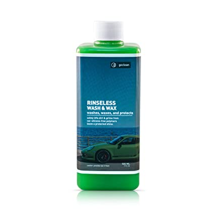 Amazoncom Goclean CONCENTRATE WASH WAX Soap Shampoo Brilliant - Show car cleaning products