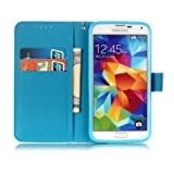 [3D Painting] Galaxy S5 Case, PU Leather